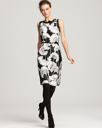 kate spade new york - Belted Austin Florence Print Dress