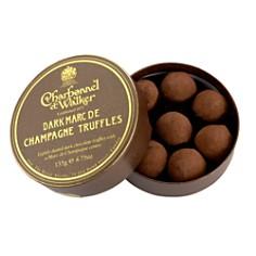 "Charbonnel et Walker - ""Marc de Champagne"" Dark Chocolate Truffles"