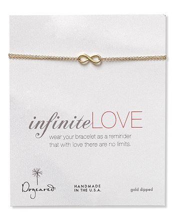 Dogeared - Gold Infinite Love Bracelet