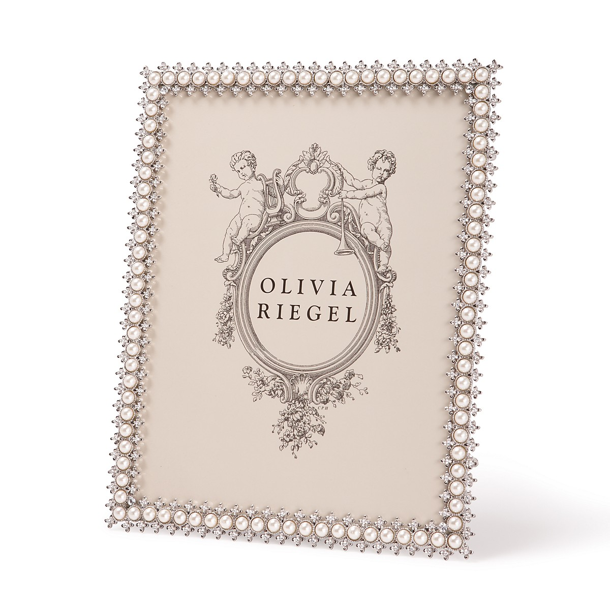 Olivia Riegel Crystal & Pearl Frame, 8\
