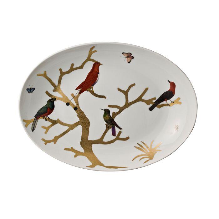 Bernardaud - Aux Oiseaux Coupe Oval Platter