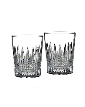 Waterford - Lismore Diamond Double Old Fashioned Glass, Set of 2