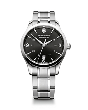 Victorinox Swiss Army Alliance Black Dial Watch, 40mm