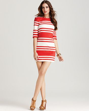 FRENCH CONNECTION - JAG Stripe Dress