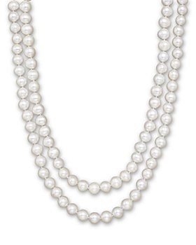 "Bloomingdale's - Cultured White Freshwater Pearl Necklace, 52"" - 100% Exclusive"