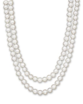 """Bloomingdale's - Cultured White Freshwater Pearl Necklace, 52""""- 100% Exclusive"""
