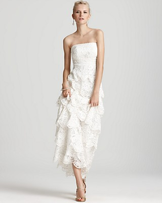 Sue Wong Gown - Lace Ruffle | Bloomingdale\'s