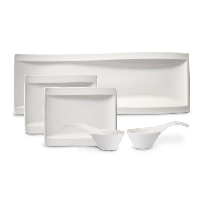 Villeroy & Boch - New Wave Antipasti Bowls & Plates, Set of 5
