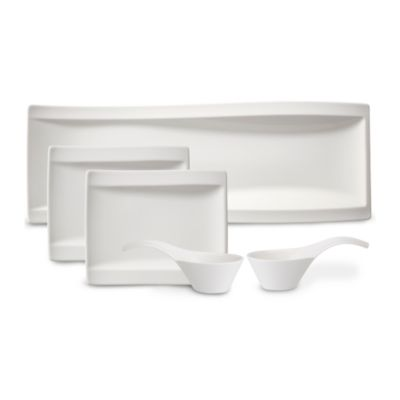 pdpImgShortDescription. pdpImgShortDescription; pdpImgShortDescription  sc 1 st  Bloomingdaleu0027s & Villeroy u0026 Boch New Wave Antipasti Bowls u0026 Plates Set of 5 ...