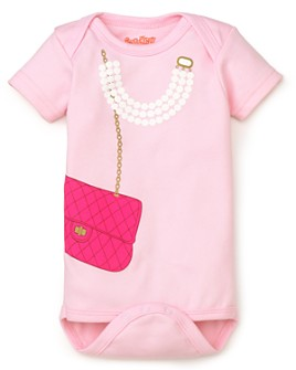 Sara Kety - Girls' Bag & Pearls Bodysuit - Baby