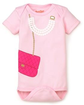 Sara Kety - Girls' Bag & Pearls Bodysuit - Baby
