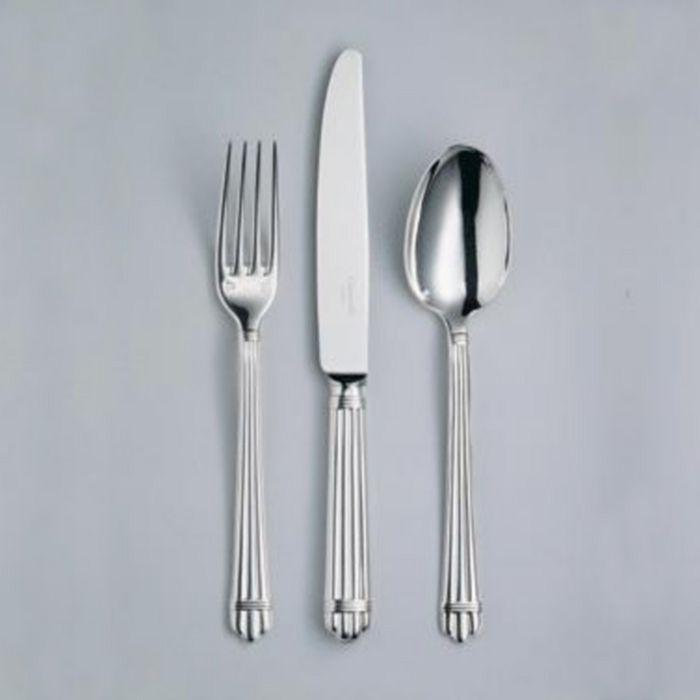 Christofle - Aria Silverplate 5 pc. Flatware Set