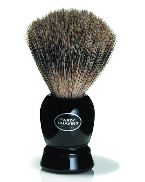 The Art of Shaving - Pure Badger Brush - Black