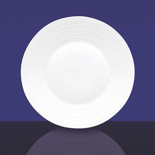 "Jasper Conran Wedgwood - Joseph Conran at Wedgwood ""White"" 7"" Swirl Plate"