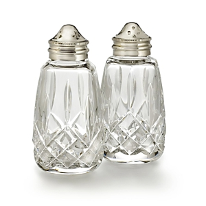 Waterford Lismore Salt and Pepper Shakers