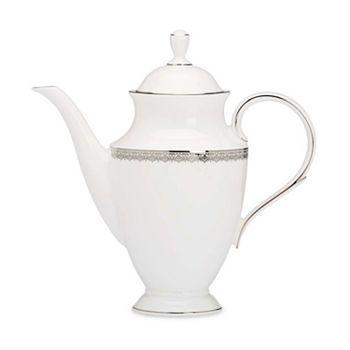 "Lenox - ""Lace Couture"" Coffee Pot"
