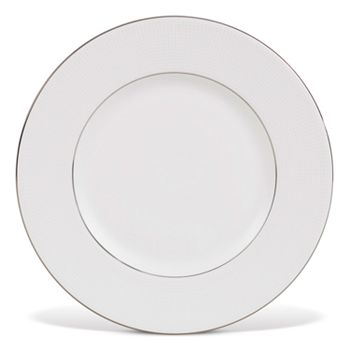"""Vera Wang - for Wedgwood """"Blanc Sur Blanc"""" Accent Plate, 9"""""""