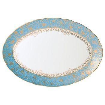 """Bernardaud - Eden Oval Platter, 15"""""""