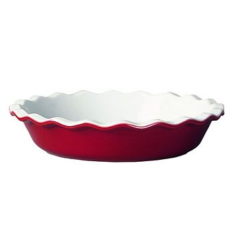 """Emile Henry - Red 9"""" Pie Dish"""