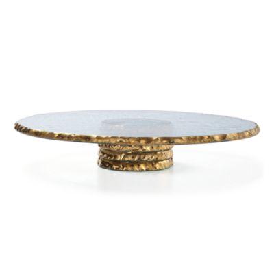 pdpImgShortDescription  sc 1 st  Bloomingdale\u0027s & Annieglass Edgey Pedestal Cake Plate | Bloomingdale\u0027s