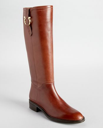 """Salvatore Ferragamo - Salvatore Ferragamo """"Fersea"""" Riding Boots"""