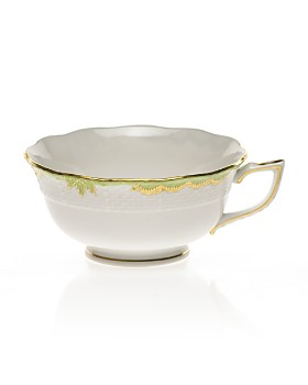 Herend - Princess Victoria Tea Cup, Green
