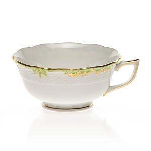 Herend Princess Victoria Tea Cup, Green