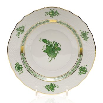 Herend - Chinese Bouquet Salad Plate, Green