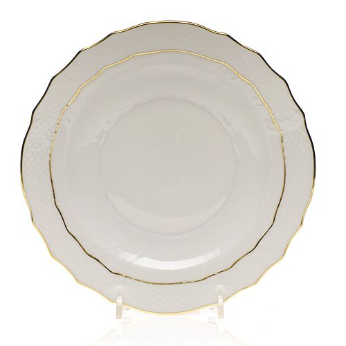Herend - Golden Edge Salad Plate