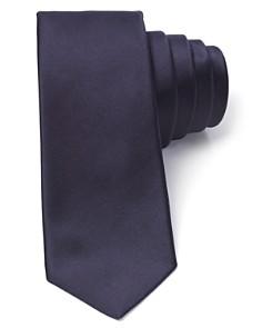 Theory Luster Satin Skinny Tie - Bloomingdale's_0