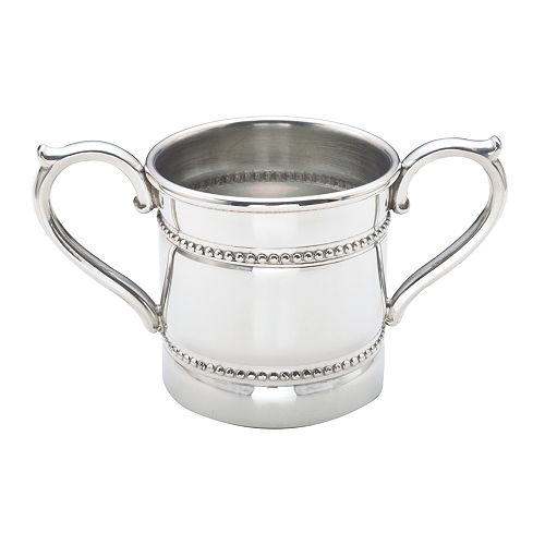 Reed & Barton - Baby Beads Double Handled Cup
