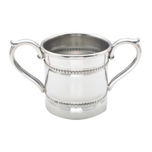 Reed & Barton Baby Beads Double Handled Cup