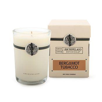 Archipelago - Bergamot Tobacco Candles & Diffuser
