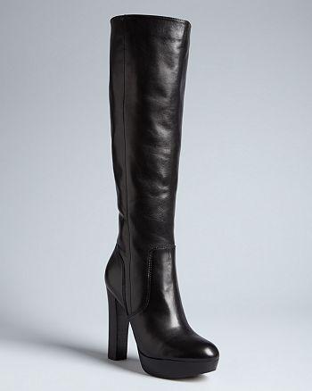 cce9da52fed MICHAEL Michael Kors Tall Platform Boots - Lesly High-Heel ...