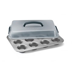 Calphalon - Calphalon Nonstick Covered Cupcake Pan