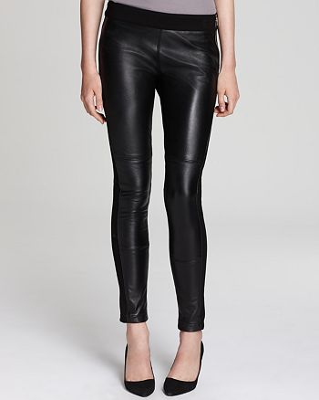 GUESS - Jeans - Skinny Leather & Ponte Leggings