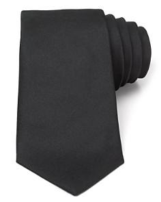 Turnbull & Asser Solid Satin Wide Tie - Bloomingdale's_0
