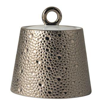 Bernardaud - Ecume Platinum Covered Sugar Bowl