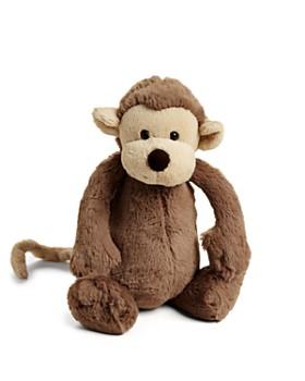 "Jellycat - Bashful Medium Monkey - 12"""