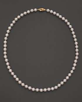 Tara Pearls - Akoya 6.5mm Cultured Pearl Strand Necklace, 18""