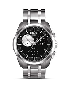 Tissot Couturier Men's Black Quartz Watch, 41mm - Bloomingdale's_0