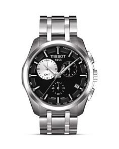 Tissot - Tissot Couturier Men's Black Quartz Watch, 41mm