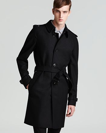 Burberry - Wool Blend Trench
