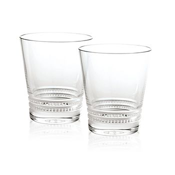Lalique - Small Facet Tumbler, Set of 2