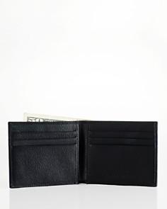 Polo Ralph Lauren - Pebbled Leather Billfold Wallet