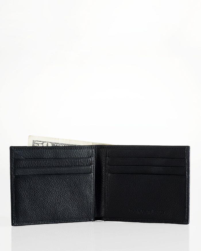 dad7ef3f1d6ecb Polo Ralph Lauren Pebbled Leather Billfold Wallet | Bloomingdale's