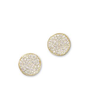 Ippolita 18K Gold Stardust Mini Studs with Diamonds
