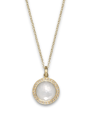Click here for Ippolita 18K Yellow Gold Mini Lollipop Pendant Nec... prices