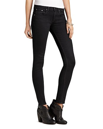 rag & bone - Jeans - Skinny Jeans in Coal Wash