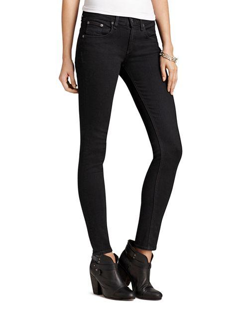 rag & bone/JEAN - Jeans - Skinny Jeans in Coal Wash
